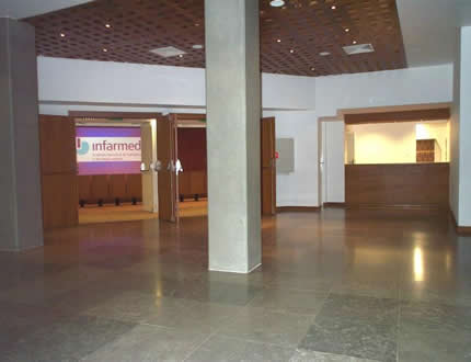 <i>Hall</i> do auditório