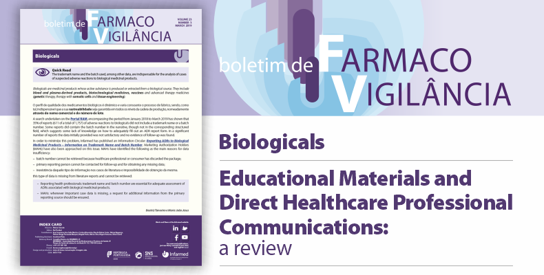 Pharmacovigilance Bulletin, Volume 23, number 3, March 2019